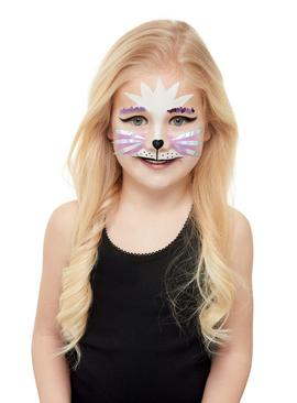 Illusions Halloween Cat Makeup Set