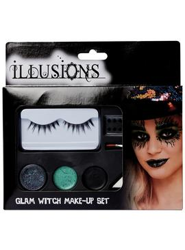 Illusions Halloween Glam Witch Makeup Set