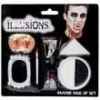 more details on Illusions Halloween Vampire Makeup Set