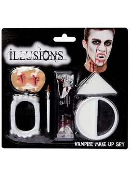 Illusions Halloween Vampire Makeup Set