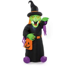 Premier Decorations 4ft Inflatable Witch
