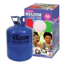 Unique Party Helium Canister For Fifty 9 Inch Balloons