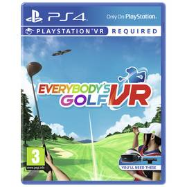 Everybody's Golf PS VR Game (PS4)
