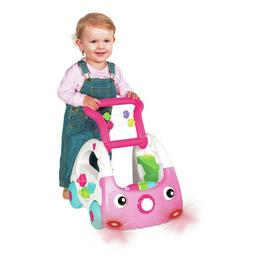 Infantino 3-in-1 Discovery Car - Pink