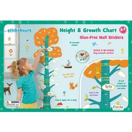 Fiesta Crafts Height Wall Chart