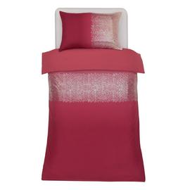 Argos Home Red Ombre Sequin Bedding Set - Single