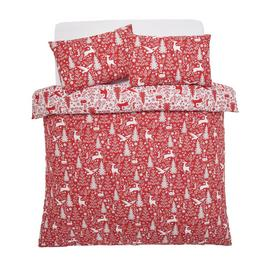 Argos Home Christmas Scene Bedding Set - Kingsize