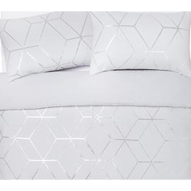 Argos Home Jacquard Geo Bedding Set