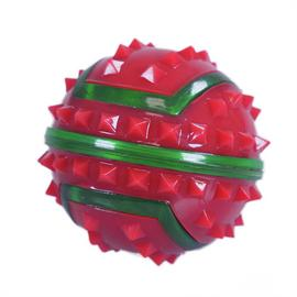 Rosewood Flashing Spikey Christmas Dog Balls - Pack of 2