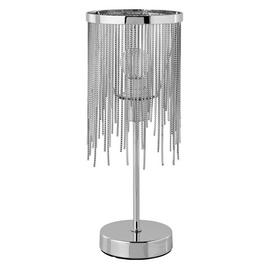 Argos Home Tammy Table Lamp - Chrome