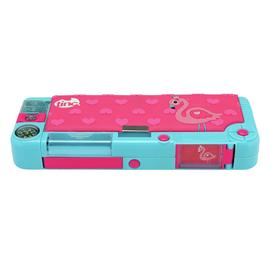 Tinc Flamingo Compartment Pencil Case