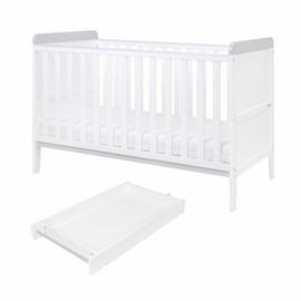 Rio Tutti Bambini Cot Bed, Changer and Mattress