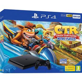 Sony PS4 500GB Console & Crash Team Racing Bundle