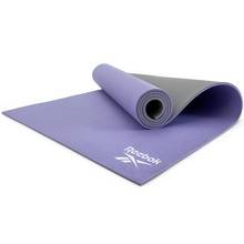 Reebok Purple and Grey 6mm Yoga Mat