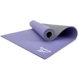 Reebok Purple and Grey 6mm Thickness Yoga Mat