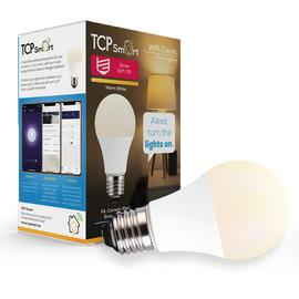 TCP Smart E27 Wi-Fi LED White Classic Dimmable Bulb