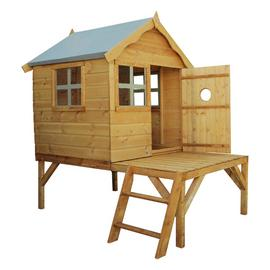 Mercia Snug Wooden Playhouse and Tower