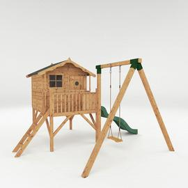 Mercia Tulip Wooden Playhouse and Activity Set