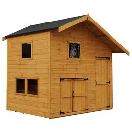 Mercia Double Storey Garage Wooden Playhouse