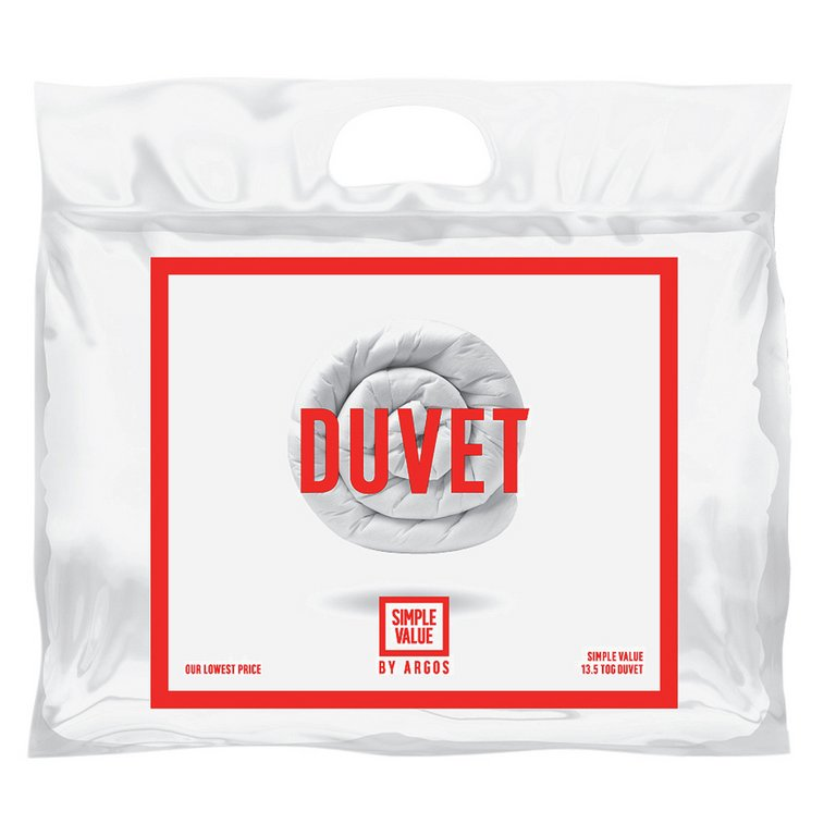 Buy Simple Value Cosy Sleeper 13 5 Tog Duvet Double At