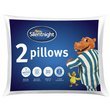 more details on Silentnight Essentials Rolled Pillow - 2 Pack