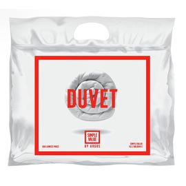Argos Home Hollowfibre 10.5 Tog Duvet - Single