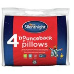 more details on Silentnight Bounce Back Pillows - 2 Pack with 2 Free.