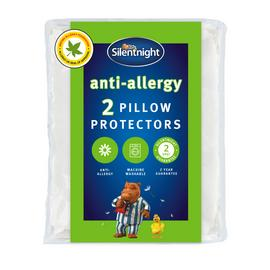 Silentnight Anti-Allergy Pair of Pillow Protectors