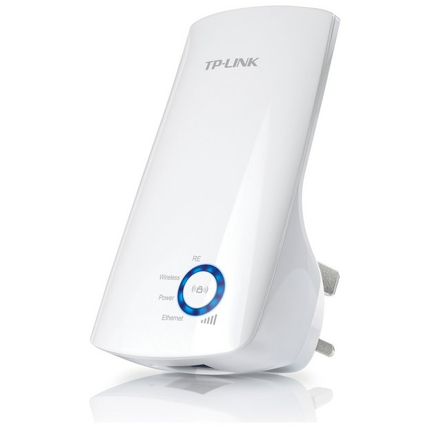 Buy TP-Link 300Mbps Wi-Fi Range Extender & Booster | Wi-Fi boosters | Argos