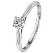 more details on 18ct White Gold 0.25ct Diamond Solitaire Ring.