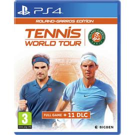 Tennis World Tour: Roland Garros Edition PS4 Game