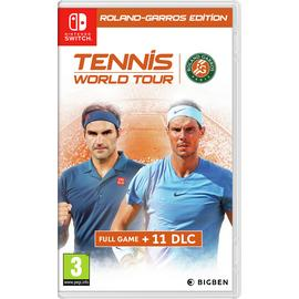 Tennis World Tour: Roland Garros Edn Nintendo Switch Game