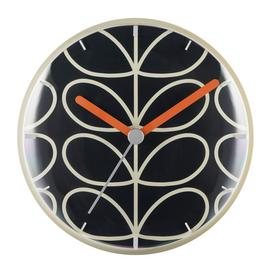 Orla Kiely Wall Clock - Slate Grey