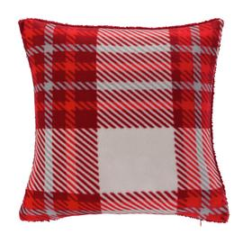 Argos Home Check Cushion