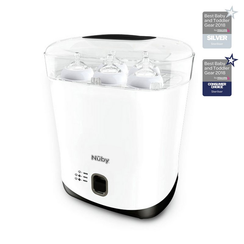 Nuby Electric Steam Steriliser and Dryer from Argos