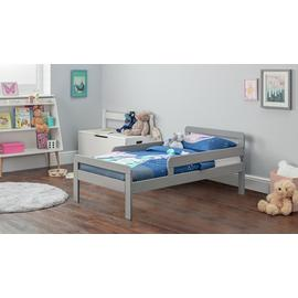 Argos Home Ellis Grey Toddler Bed & Kids Mattress