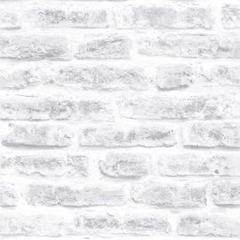 Superfresco Easy Industry Brick White Wallpaper