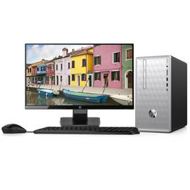 HP Pentium Gold 4GB 1TB Desktop PC & 22w Monitor Bundle