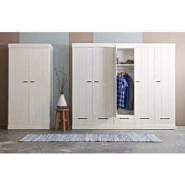 Woood Connect 2 Door Wardrobe - White