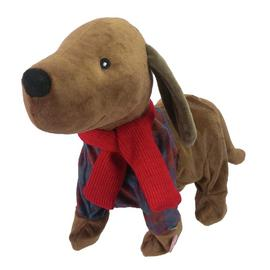 Argos Home Sausage Dog Animated Soft Toy