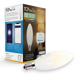 TCP Smart SES / E14 Warm White Candle Bulb