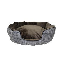 Argos Home Woven High Sided Pet Bed - Large