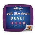 more details on Silentnight Soft Like Down 10.5 Tog Duvet - Double.