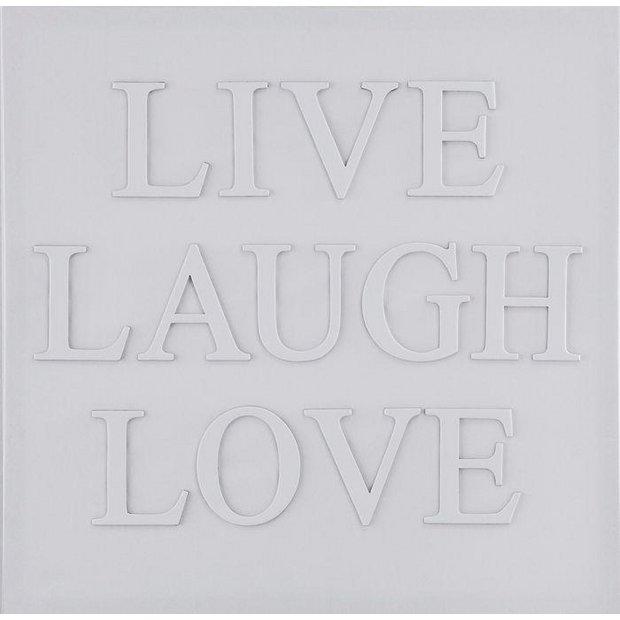 live laugh love 3d - photo #22