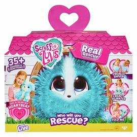 Scruff a Luvs Real Rescue – Surprise Interactive Pet - Aqua
