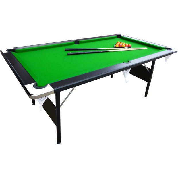 Buy Mightymast Hustler 7ft Foldup Pool Table At Argosco
