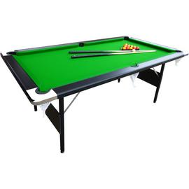 Mightymast Hustler 7ft Foldup Pool Table.