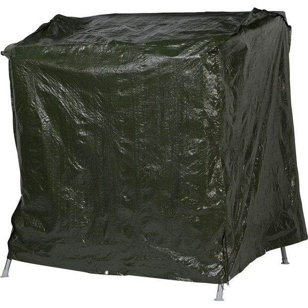 Buy home standard 2 person garden swing cover at argosco for Chair cushion covers argos