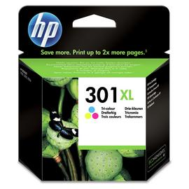 HP 301 XL Original Ink Cartridges - Colour