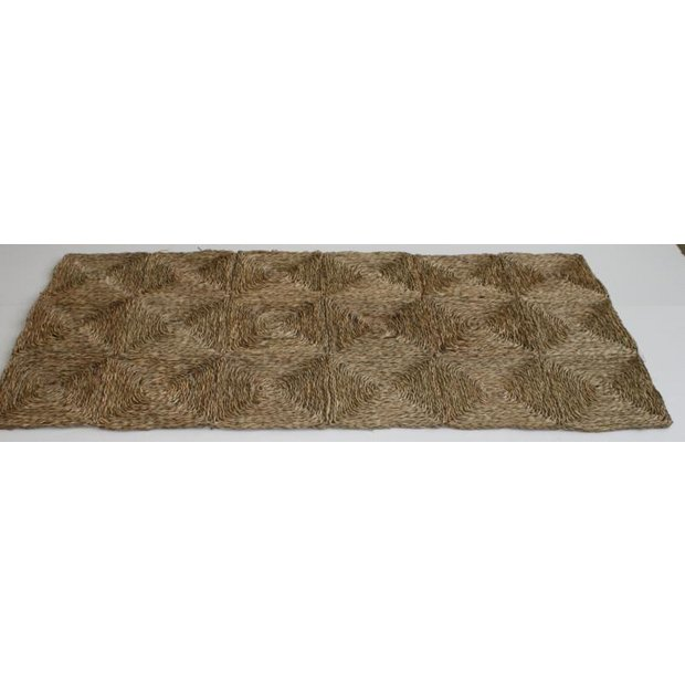 buy vietnamese seagrass rug 91x183cm rugs and mats argos. Black Bedroom Furniture Sets. Home Design Ideas